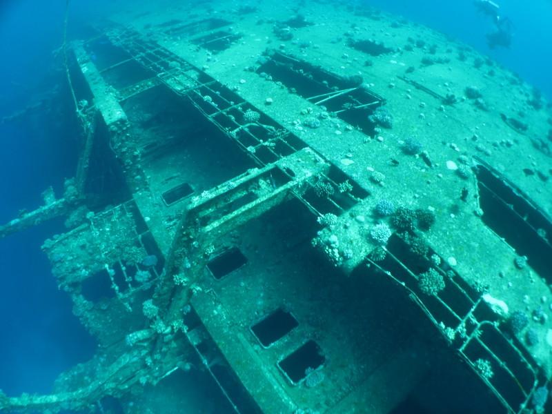 Дайвинг на затонувшие объекты Египта