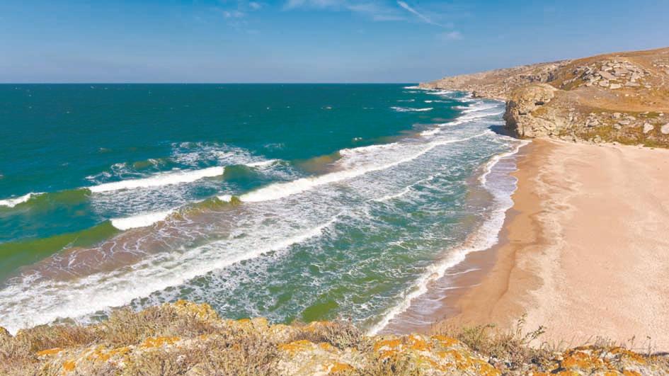 Дайвинг на Азовском море