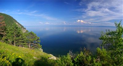 Дайвинг на Больших Котах (оз. Байкал)